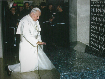 Pope John Paul Saint Padre Pio